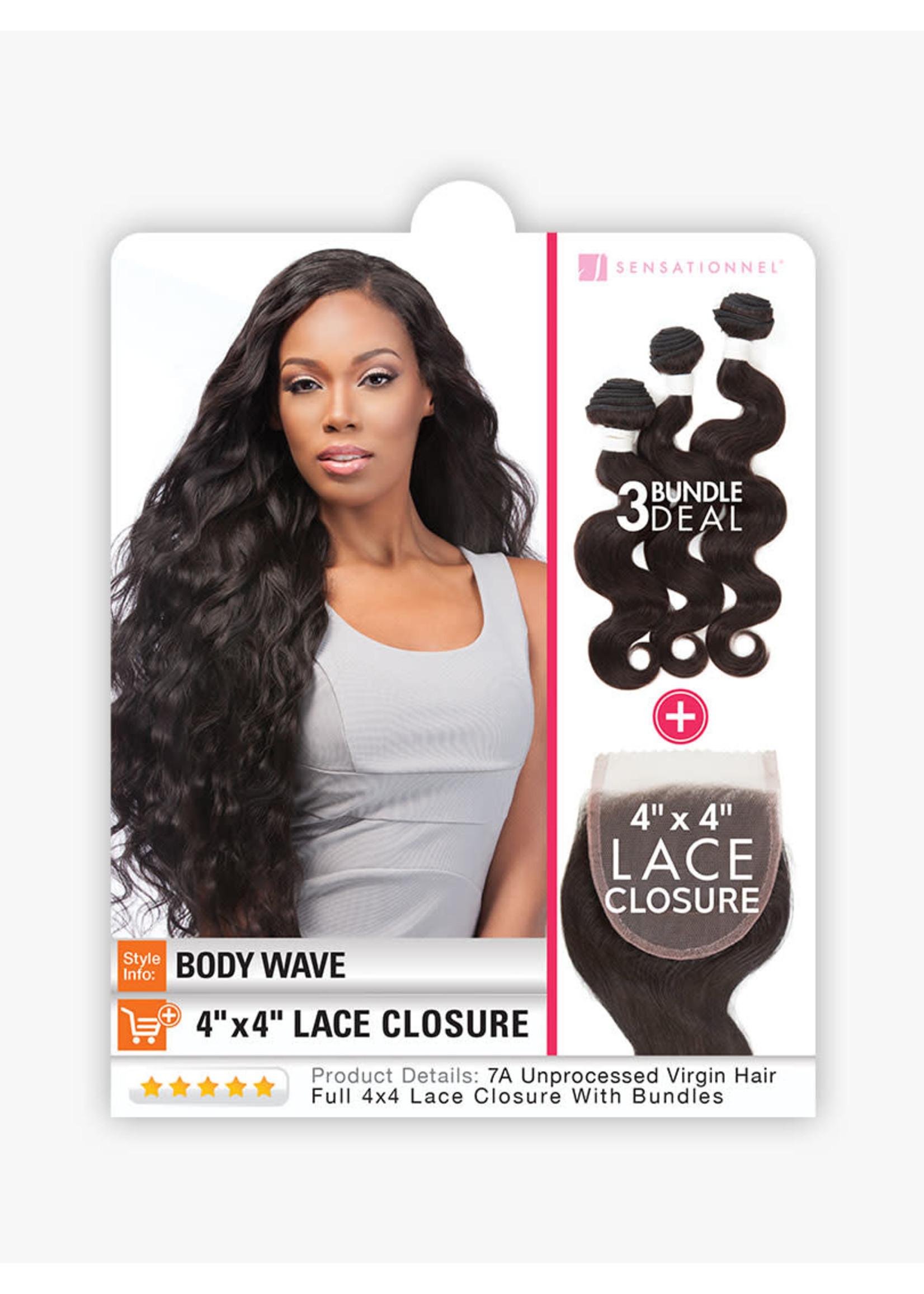 Sensationnel Lace Closure + Bundle Collection Body Wave