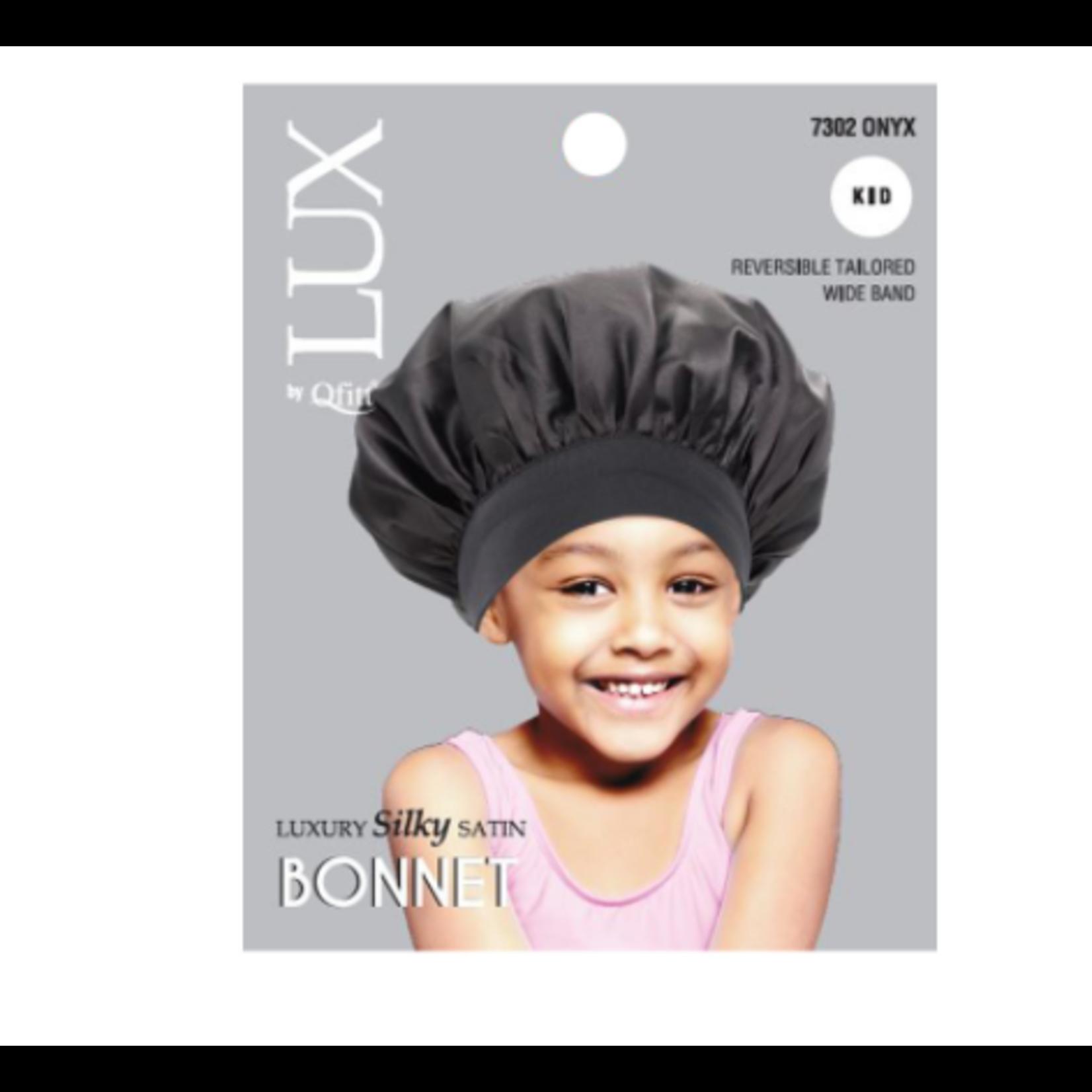 Lux by Qfitt M&M Kid Silk Bonnet