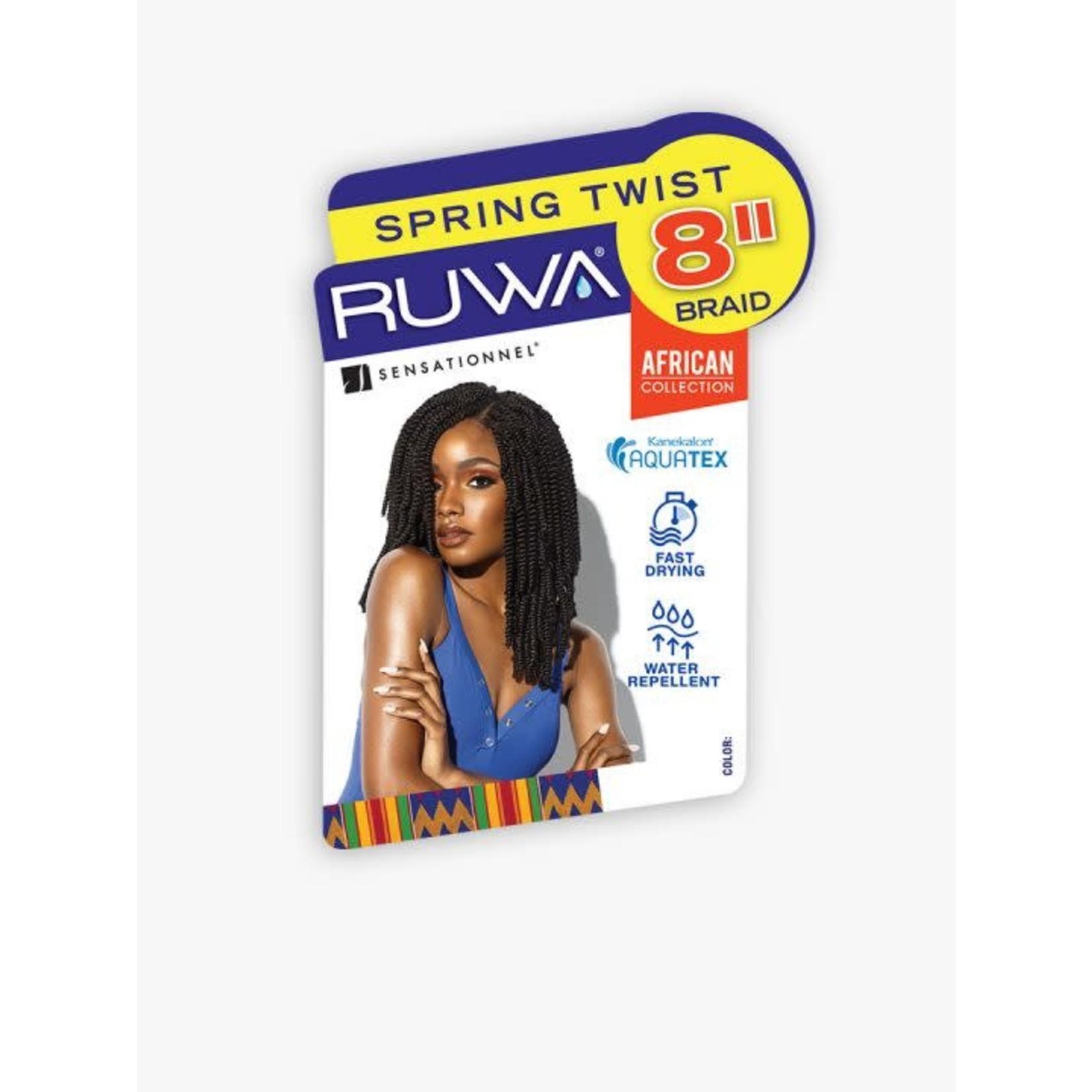 "Sensationnel RUWA Spring Twist 8"""
