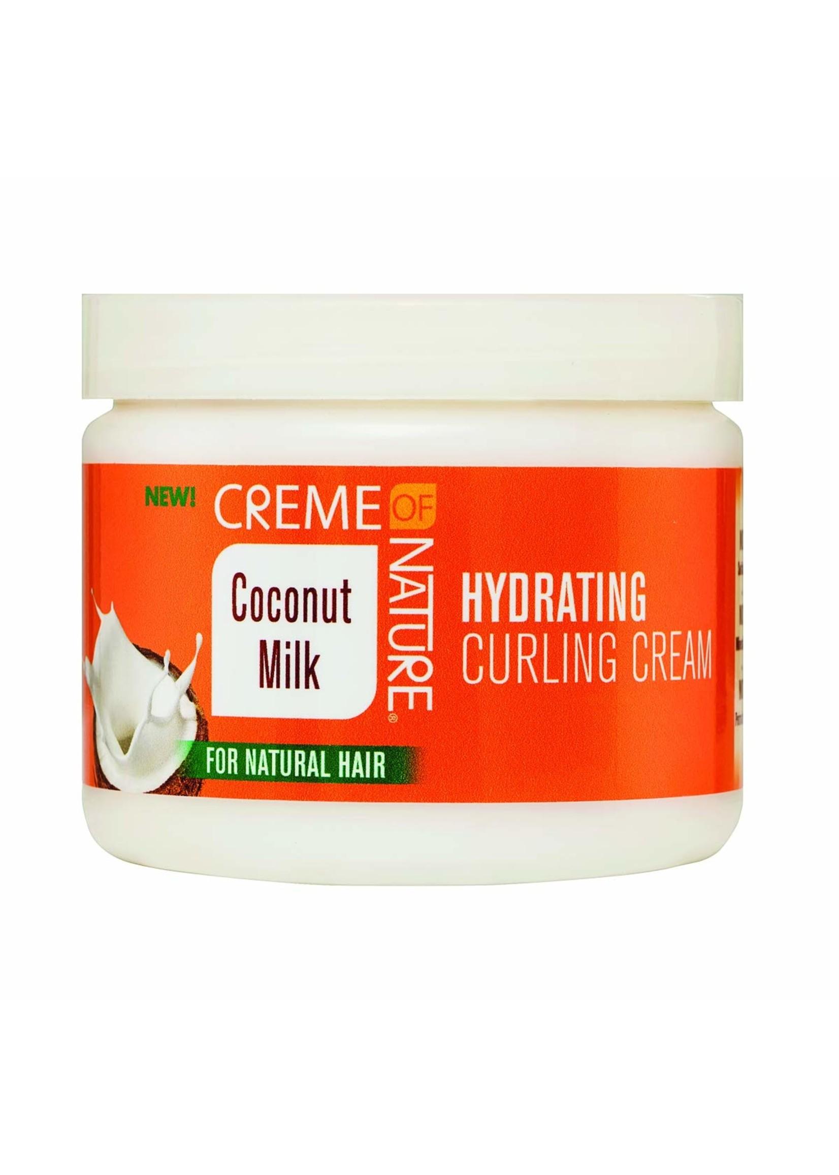 Creme of Nature Coconut Milk Hydrating Curling Cream