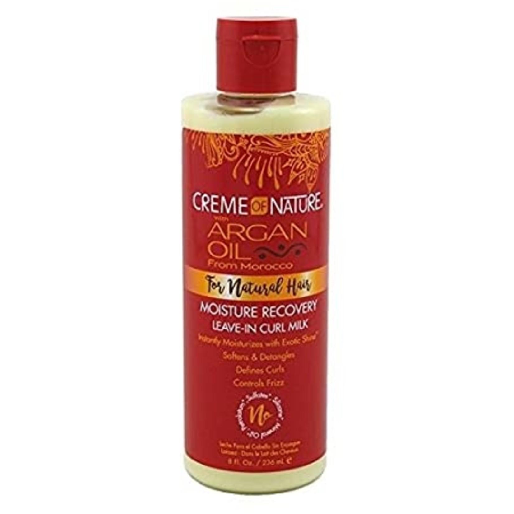 Creme of Nature Argan Oil Leave-In Curl Milk