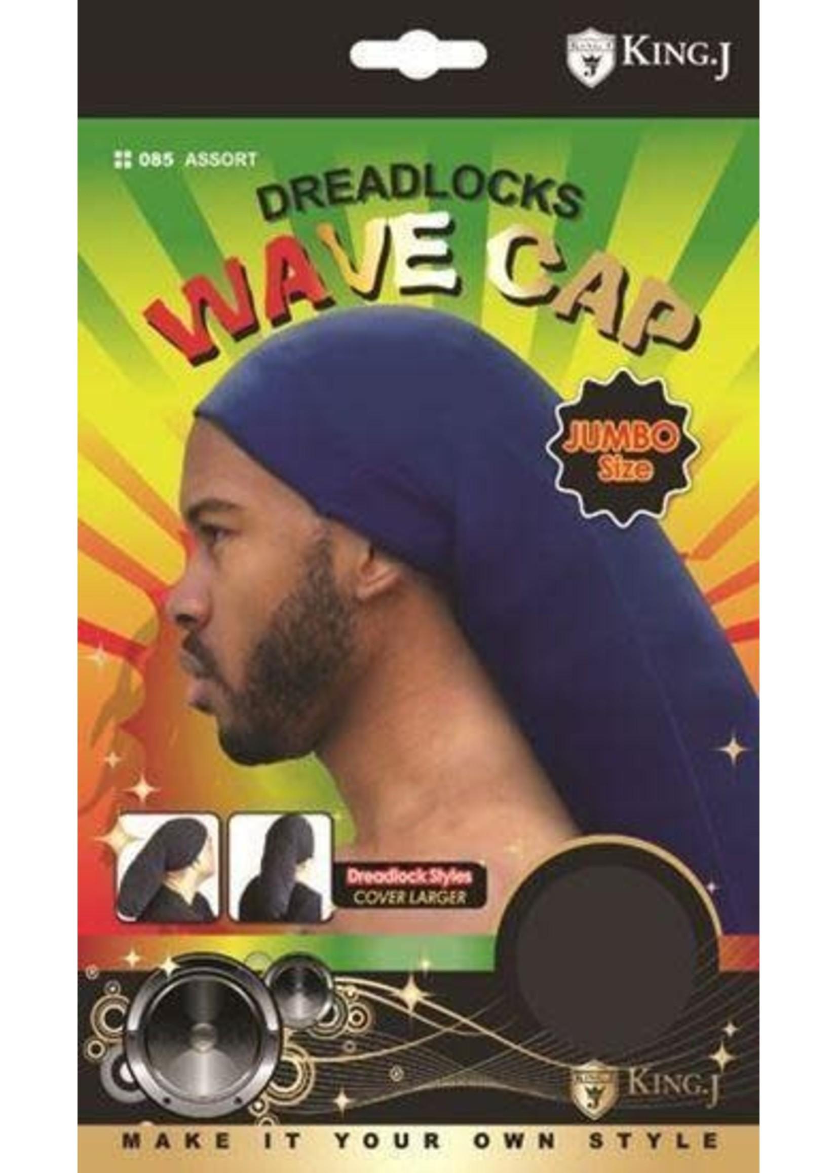 King J Dreadlocks Wave Camp Jumbo Black