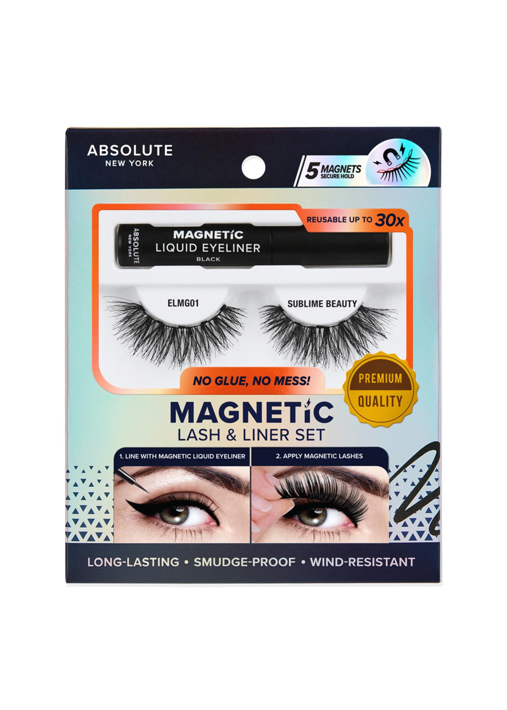 Absolute New York Magnetic Lash &  Liner Set