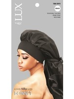Lux by Qfitt Assorted Luxury Silky Satin Braid Bonnet