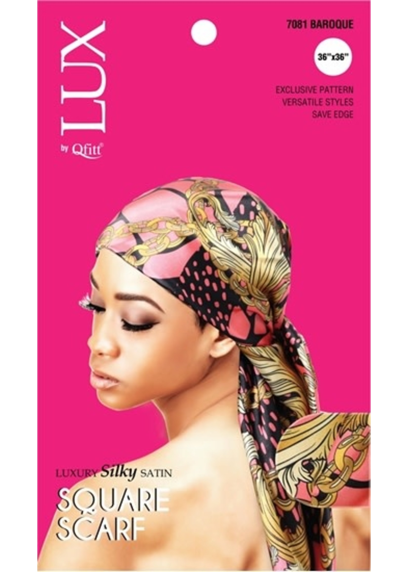 Lux by Qfitt Assorted Square Scarf
