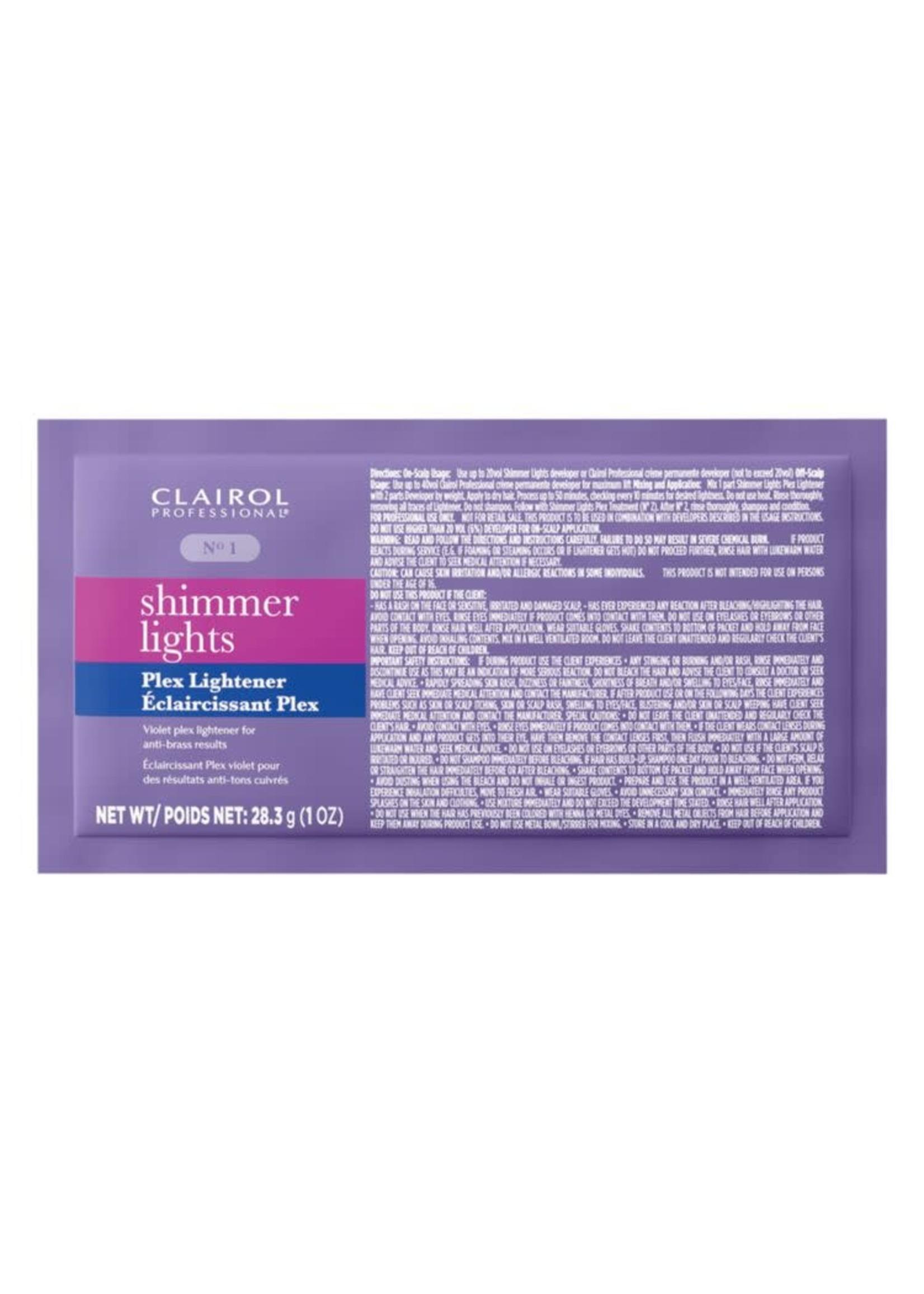 Clairol Professional Shimmer Lights Plex Lightener