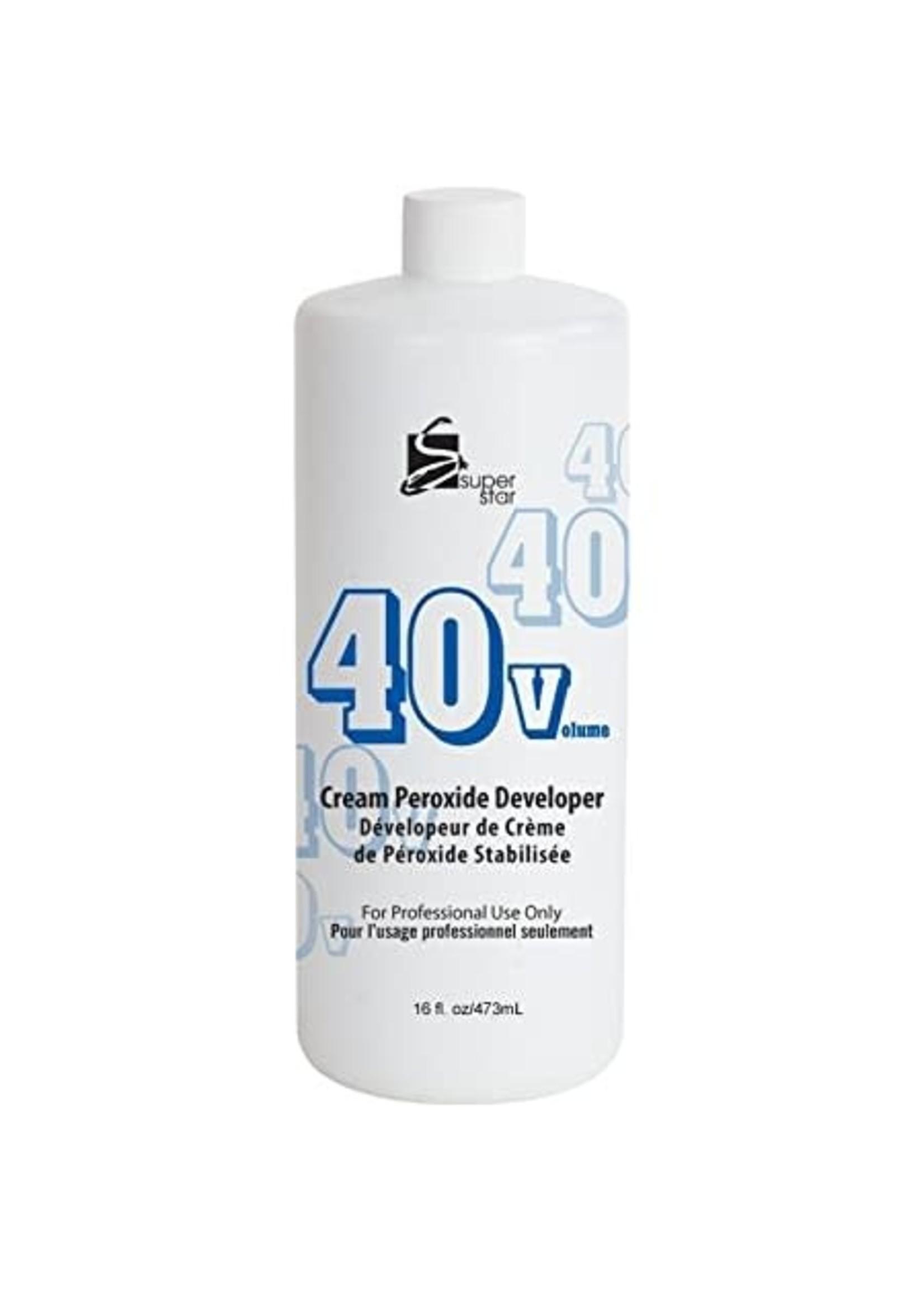 Super Star 40V Cream Peroxide Developer 16 OZ