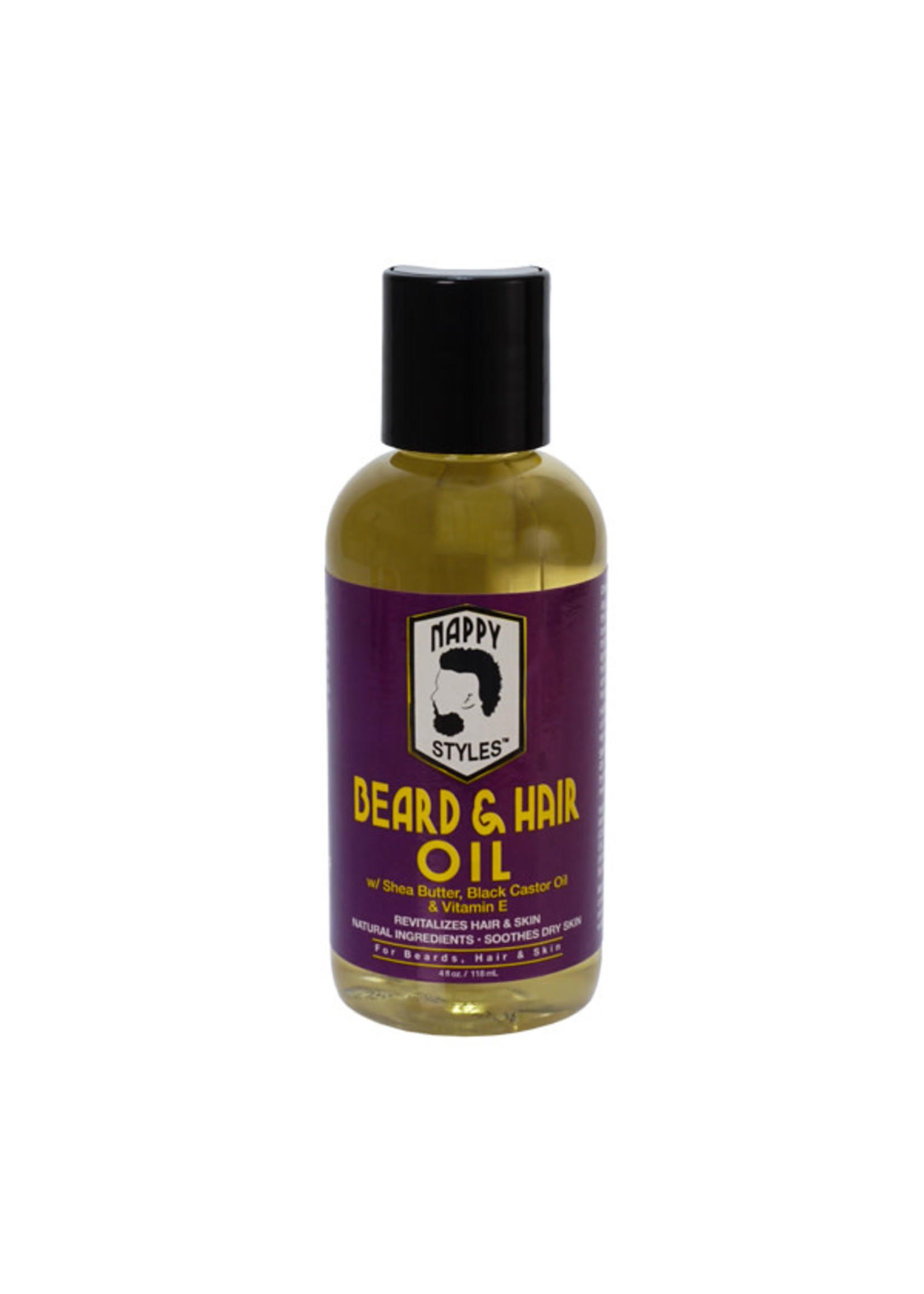 Nappy Styles Hair & Beard Oil