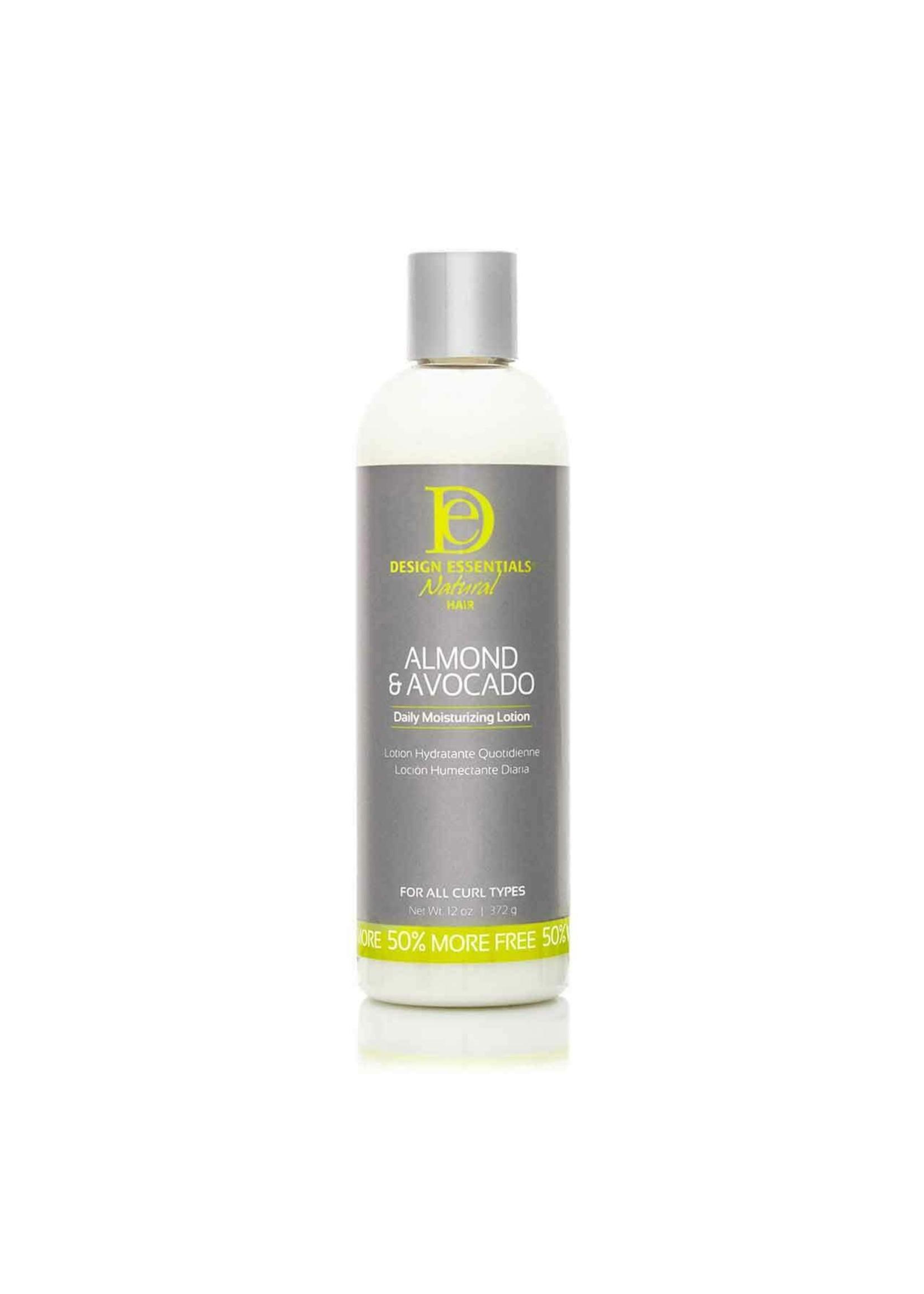 Design Essentials Almond & Avocado Daily Moisturizing Lotion