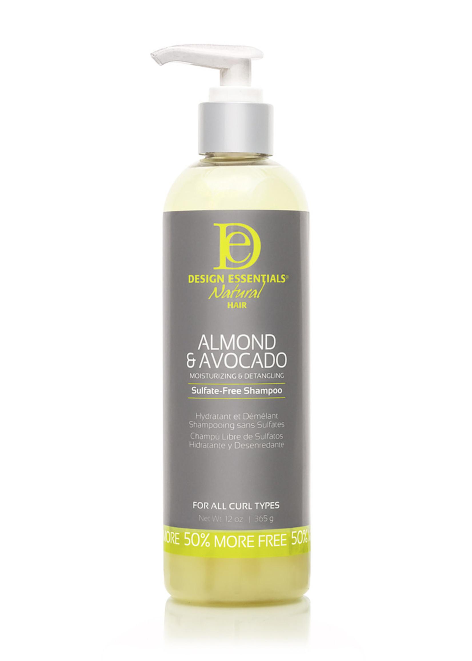 Design Essentials Almond & Avocado Moisturizing Shampoo