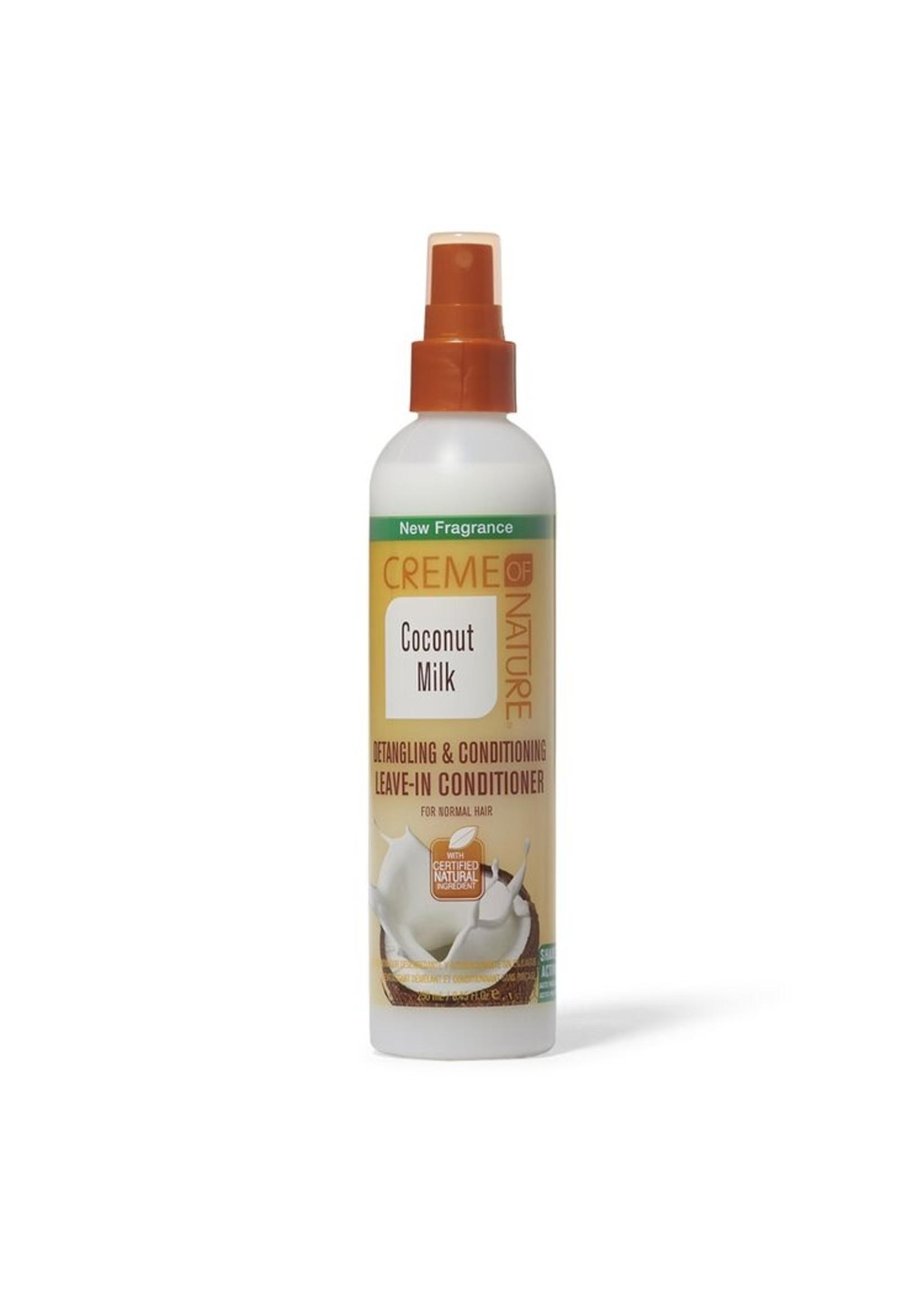 Creme of Nature Coconut Milk Detangling Leave In Conditioner