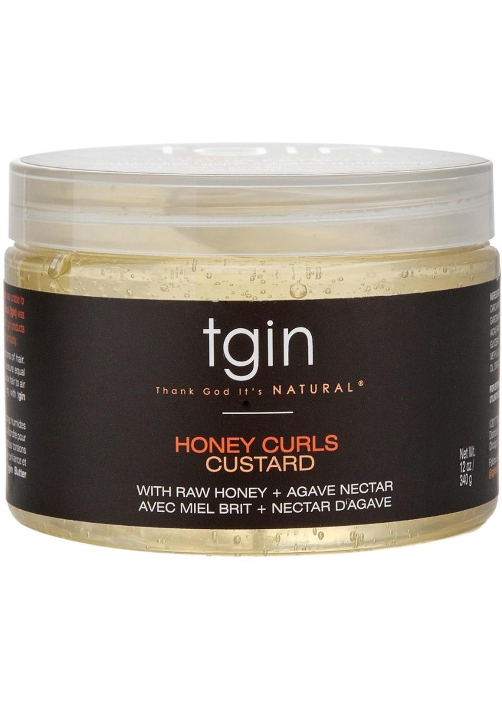 TGIN Honey Curls Custard