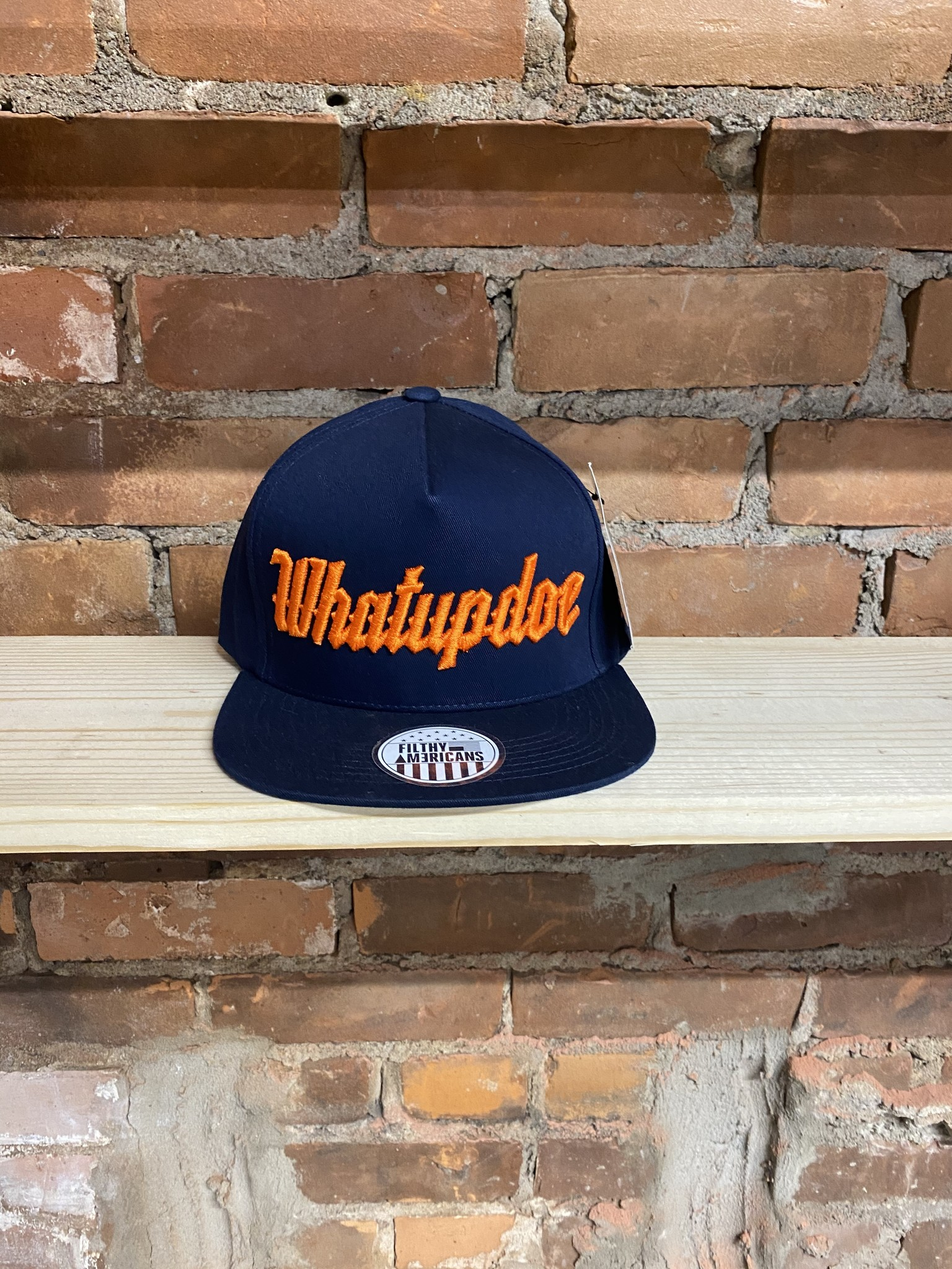TIGER BLUE & ORANGE SNAPBACK