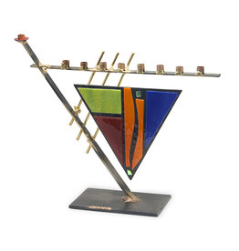 Modern Metal/ Stained Glass