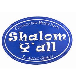 Shalom Y'all Stickers