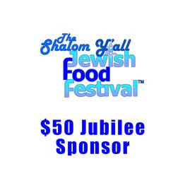$50 Jubilee Sponsor