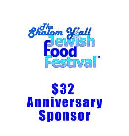 $32 Anniversary Sponsor