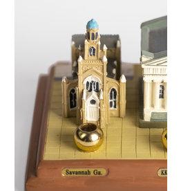 Historic Synagogues Menorah