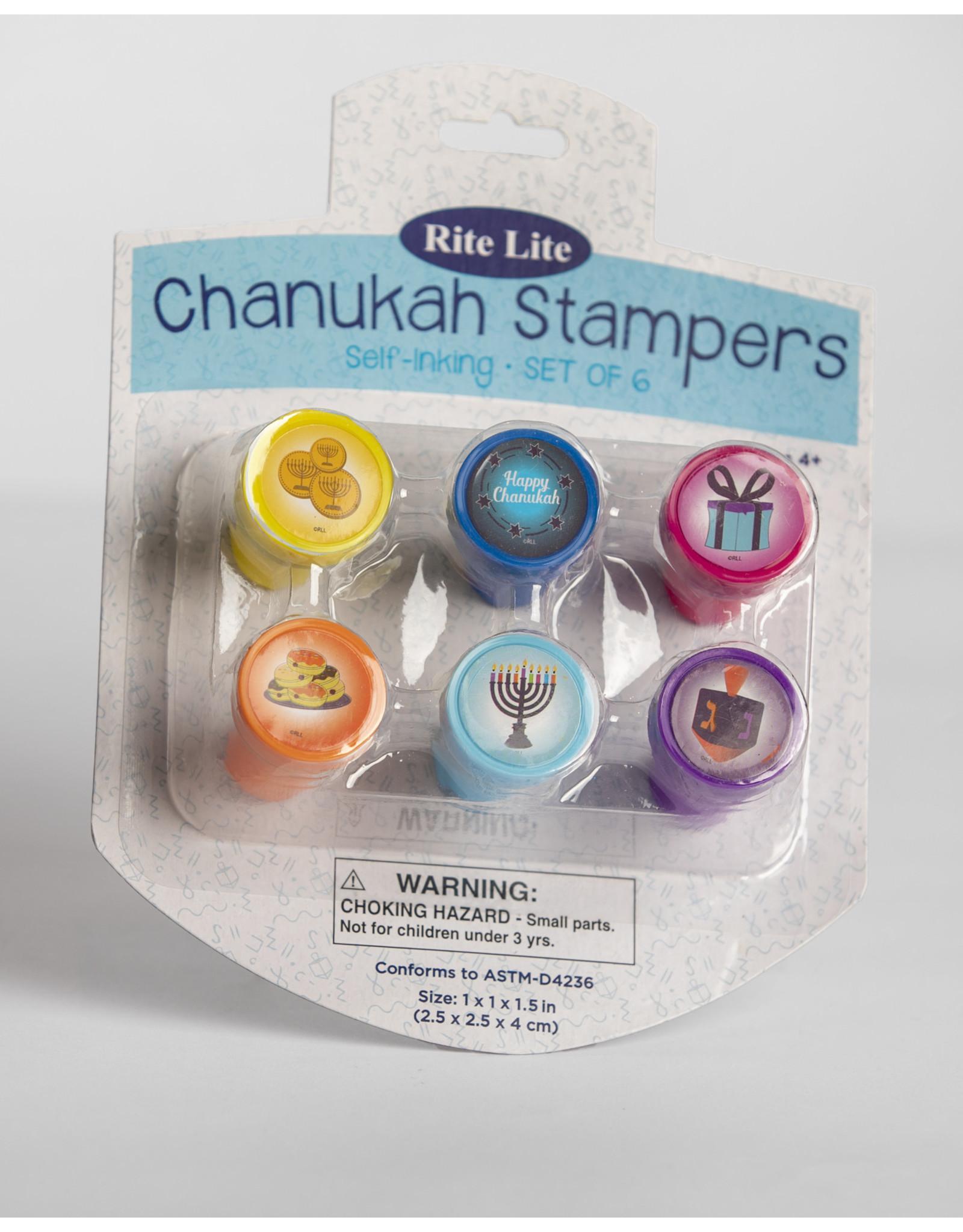 Rite Lite Chanukah Hanukkah Stampers