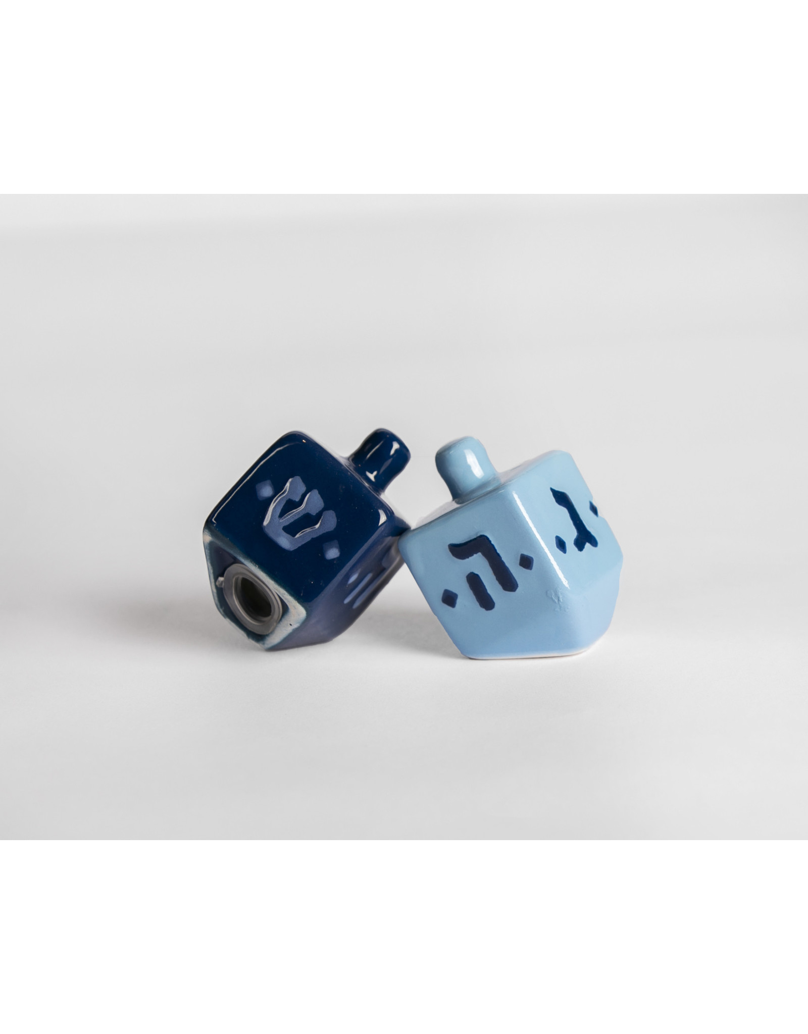 Hanukkah Dreidel Salt & Pepper Shakers