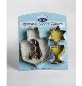 Hanukkah Cookie Cutters set