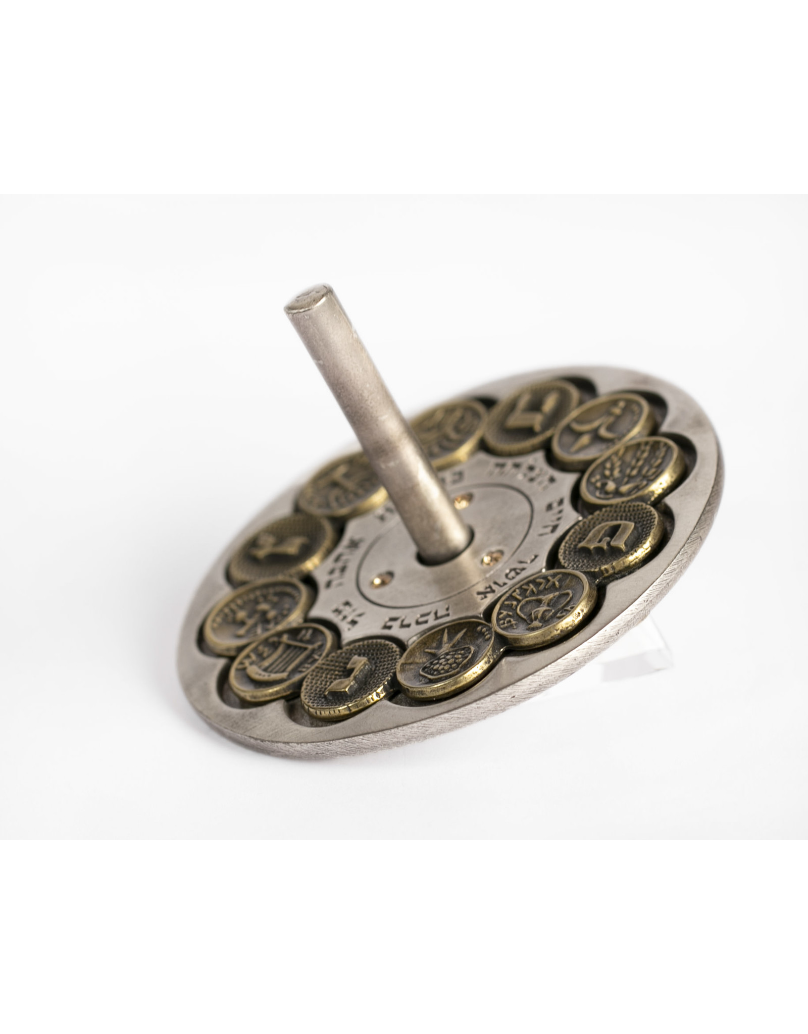 Dreidel  Large  Alloyed Metal Coins
