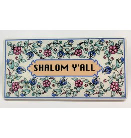 Shalom Y'all Ceramic Tile