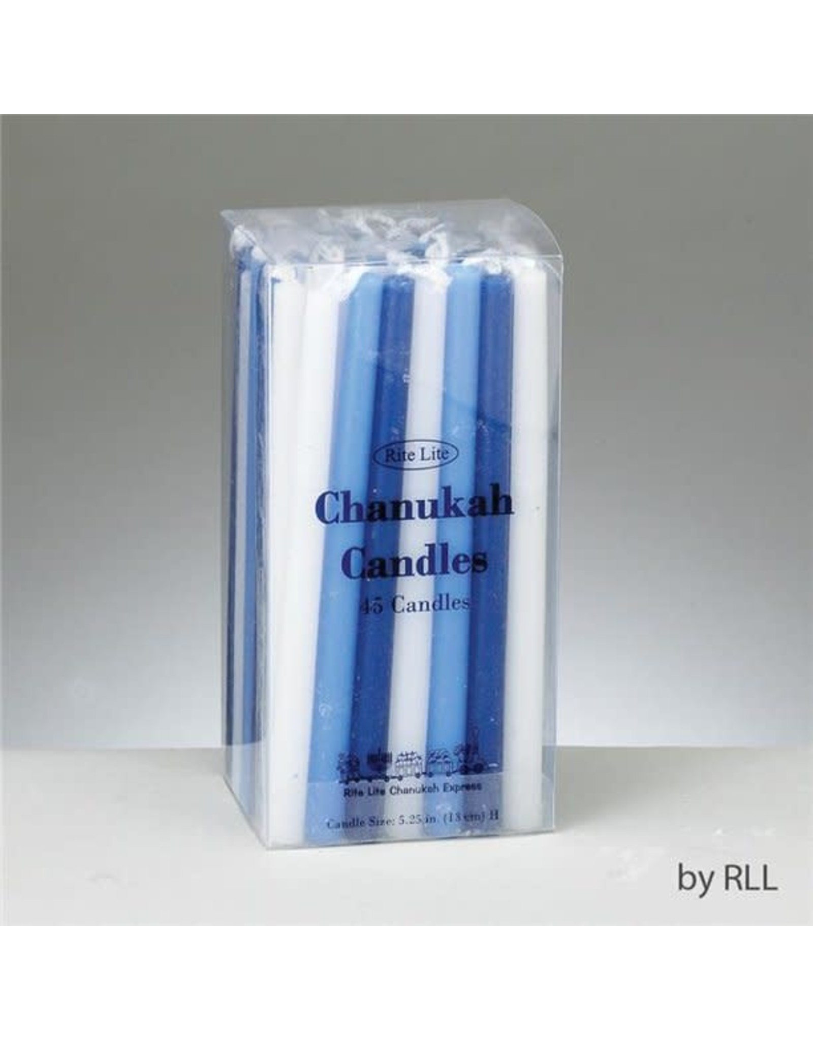 Chanukah Candles Assorted blue and white