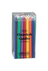 Chanukah Candles Assorted Multi- Colors