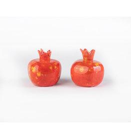Candlesticks Clay Pomegranate