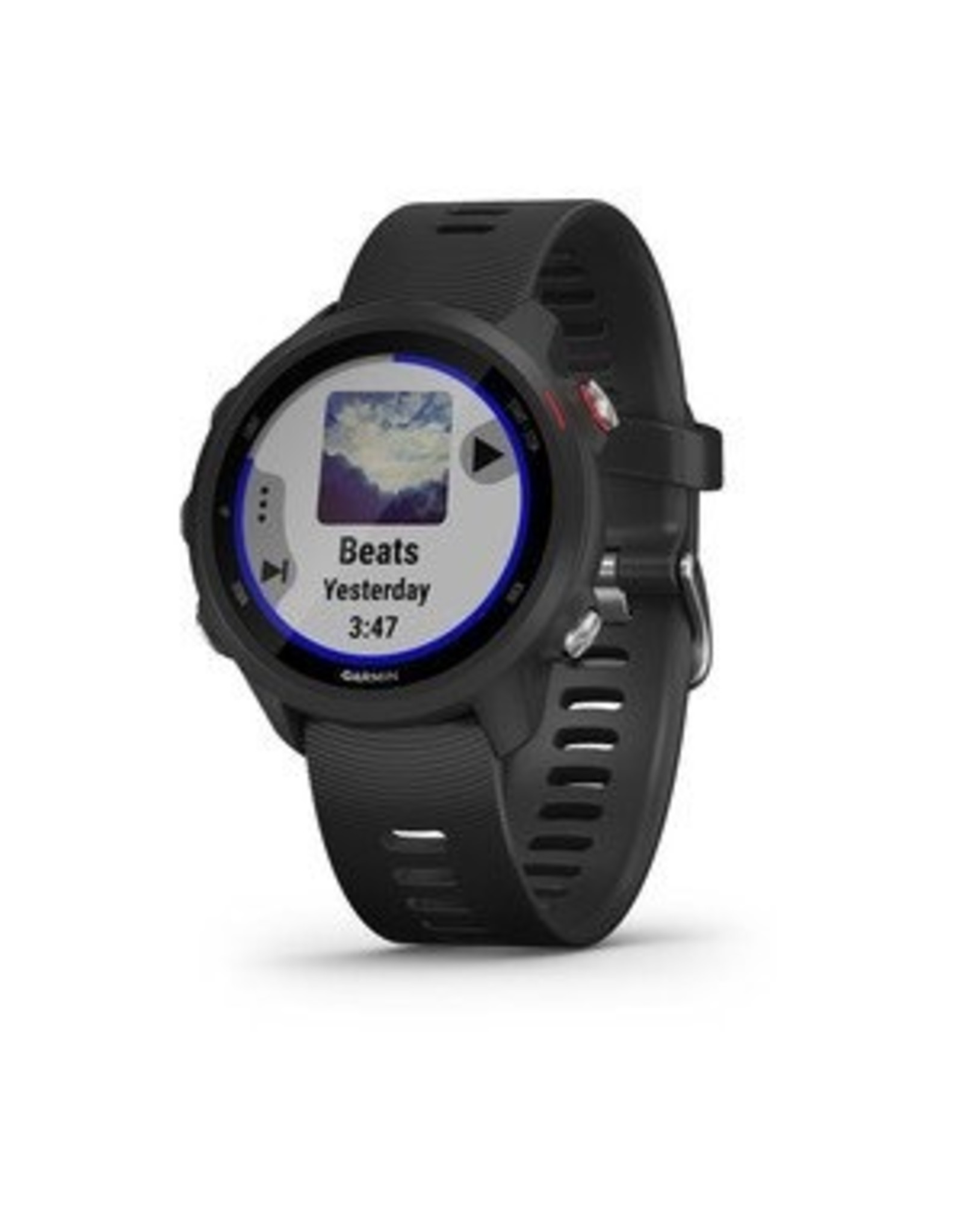 Garmin GARMIN FR 245 WITH MUSIC BLACK/RED