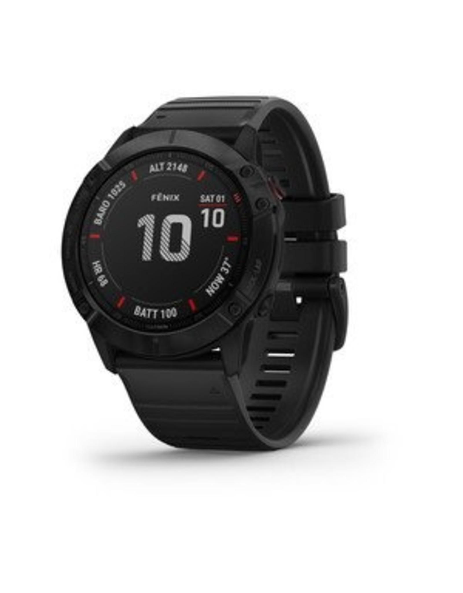 Garmin GARMIN FENIX 6 PRO BLACK W/BLACK BAND GPS