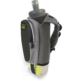 Amphipod Amphipod Hydraform Soft-Tech 20oz Handheld Water Bottle - Charcoal