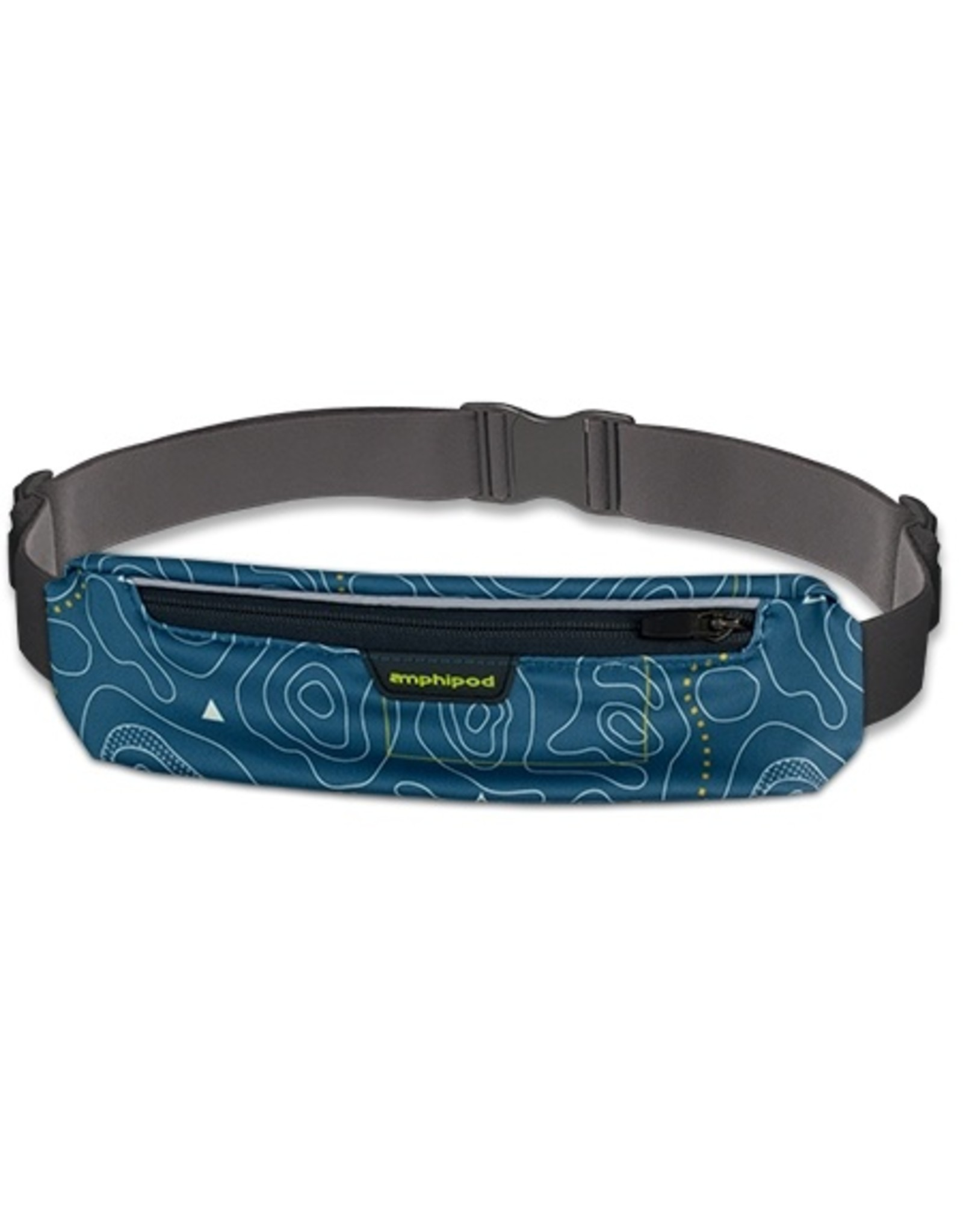 Amphipod AMPHIPOD MICROSTRETCH PLUS LUXE BELT TOPO