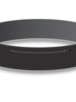 Amphipod Amphipod Infinity Luxe Belt - Black Size 2