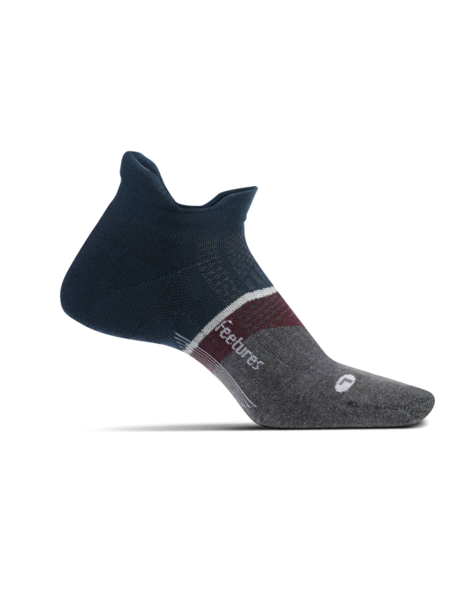 Feetures Feetures Elite Max Cusion No Show Tab Sock