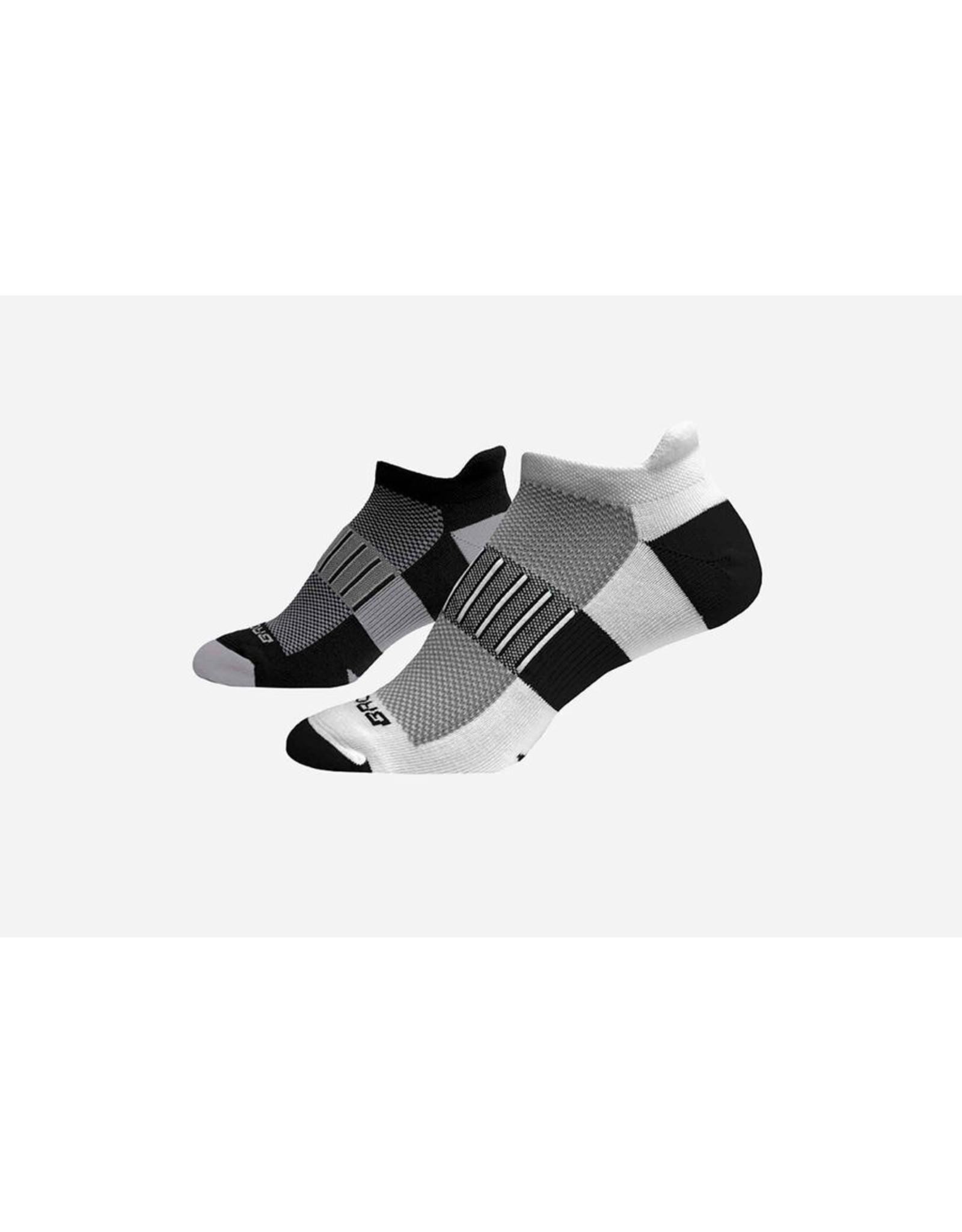 Brooks Brooks Ghost Midweight 2-Pack Socks