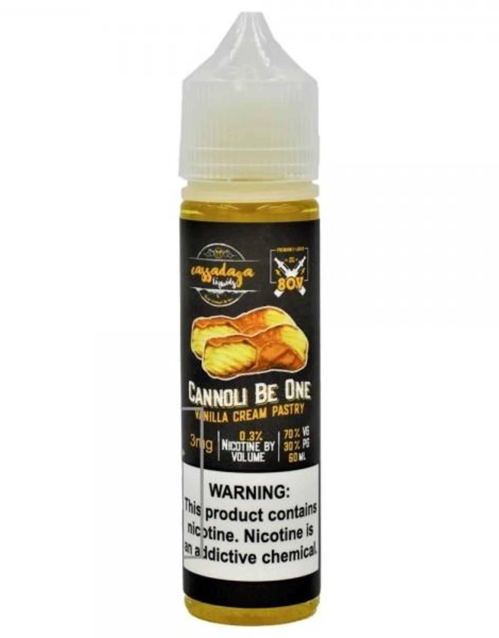 Cassadaga Liquids Cannoli be One