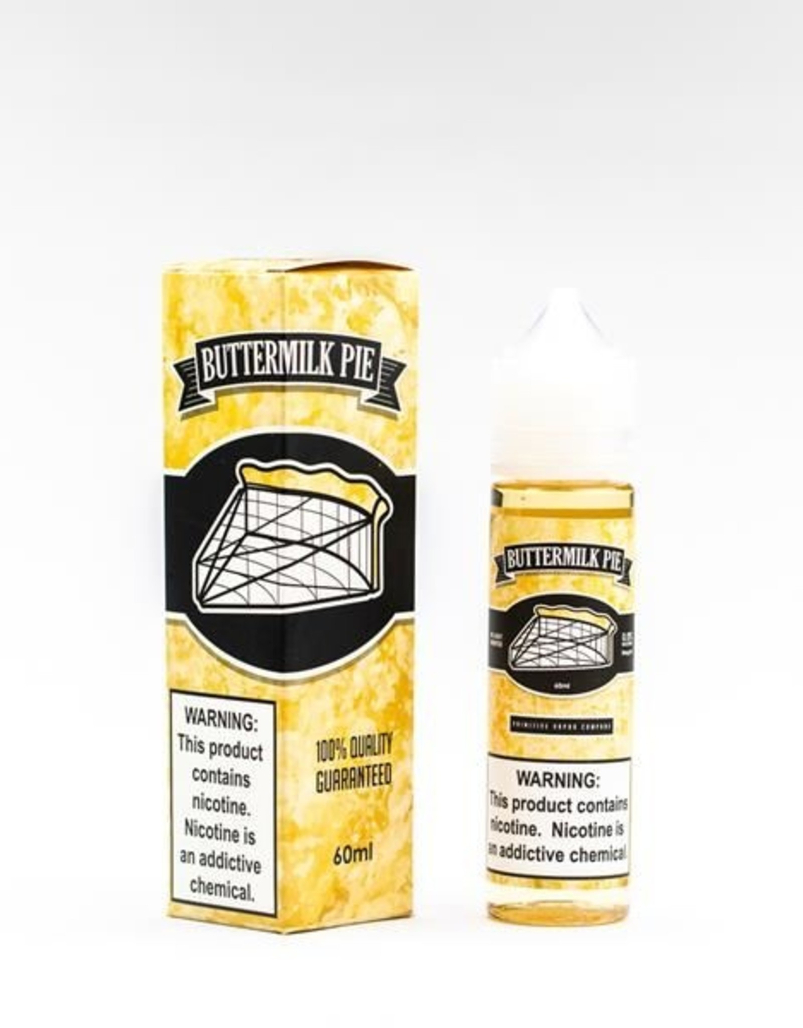 Primitive Buttermilk Pie