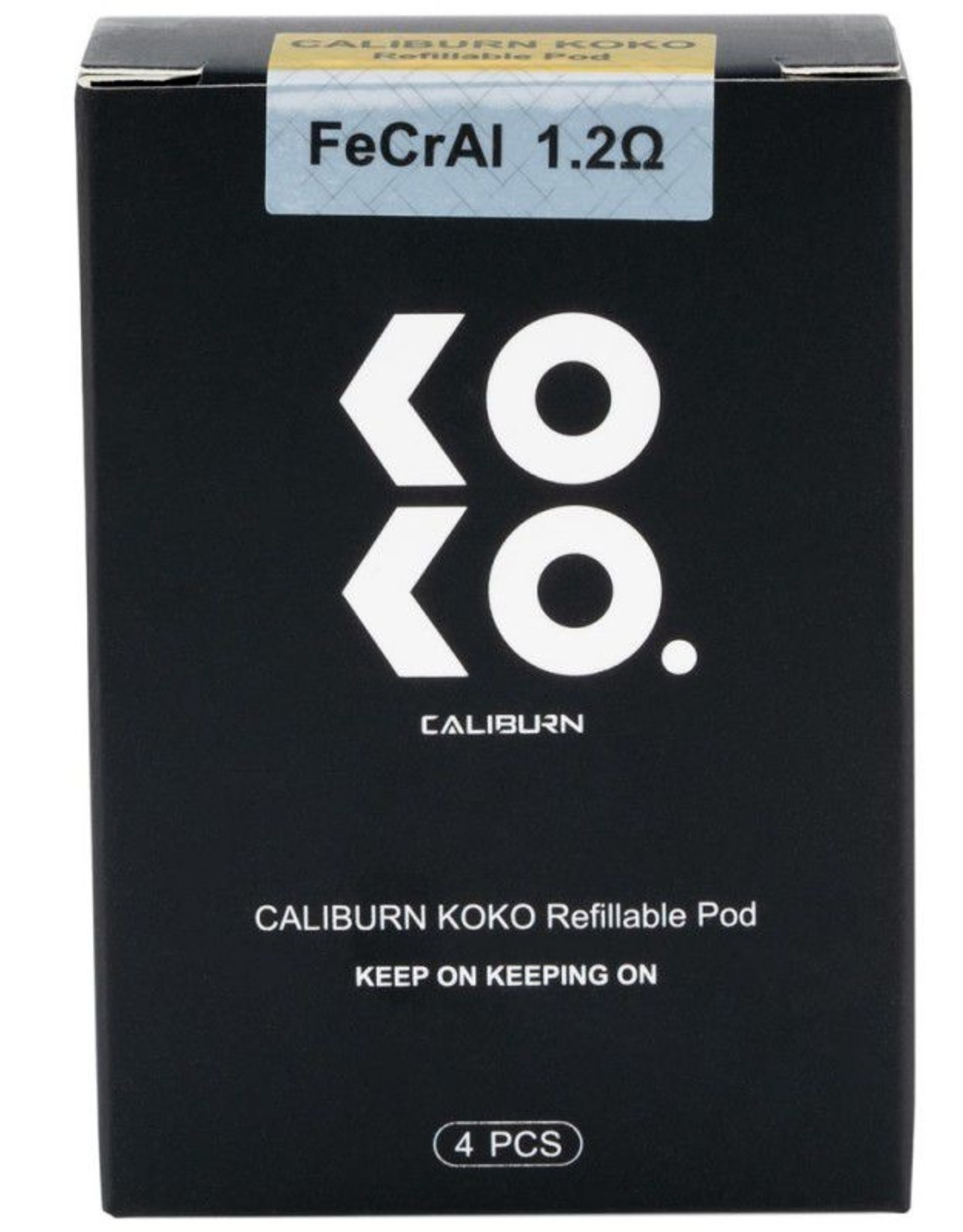 Uwell Caliburn & KOKO Replacement Pods 4 Pack
