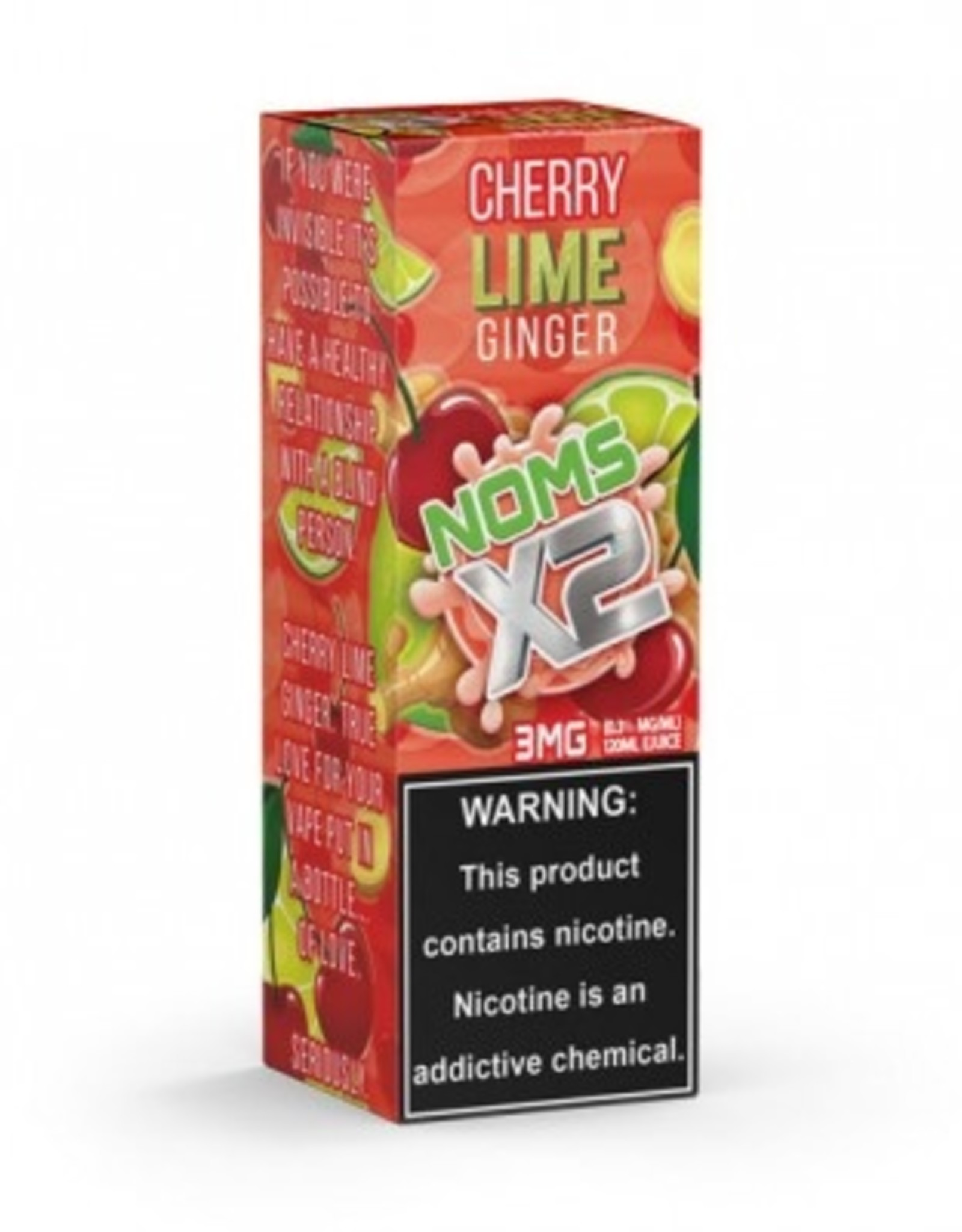 Nomenom Cherry Lime Ginger