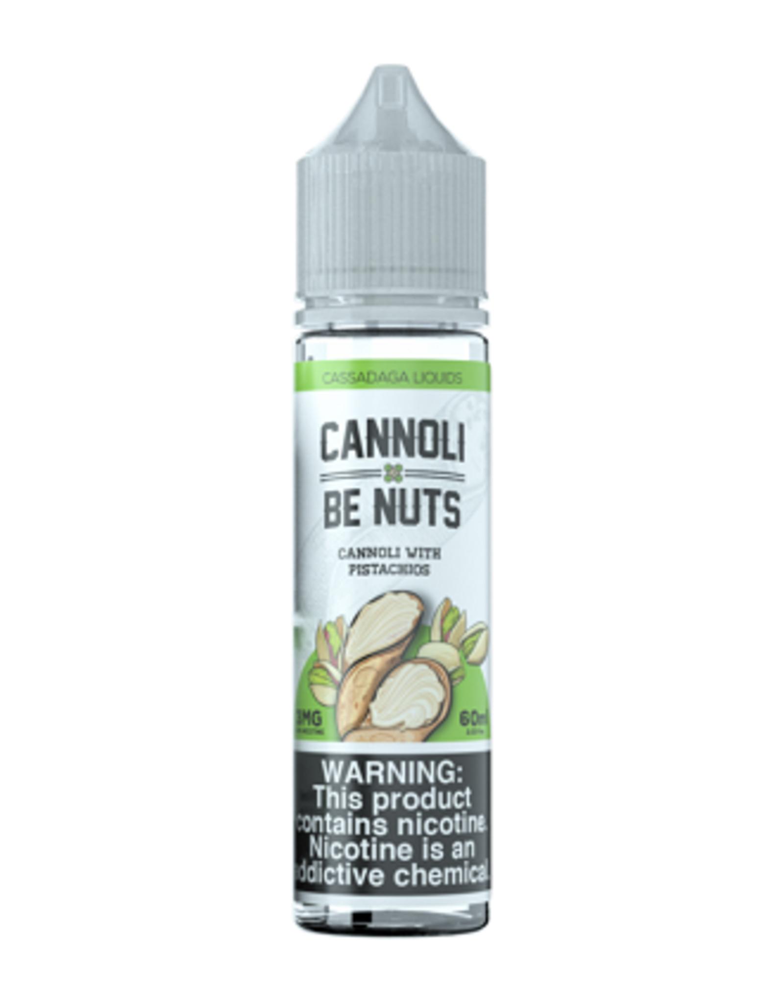 Cassadaga Liquids Cannoli be Nuts