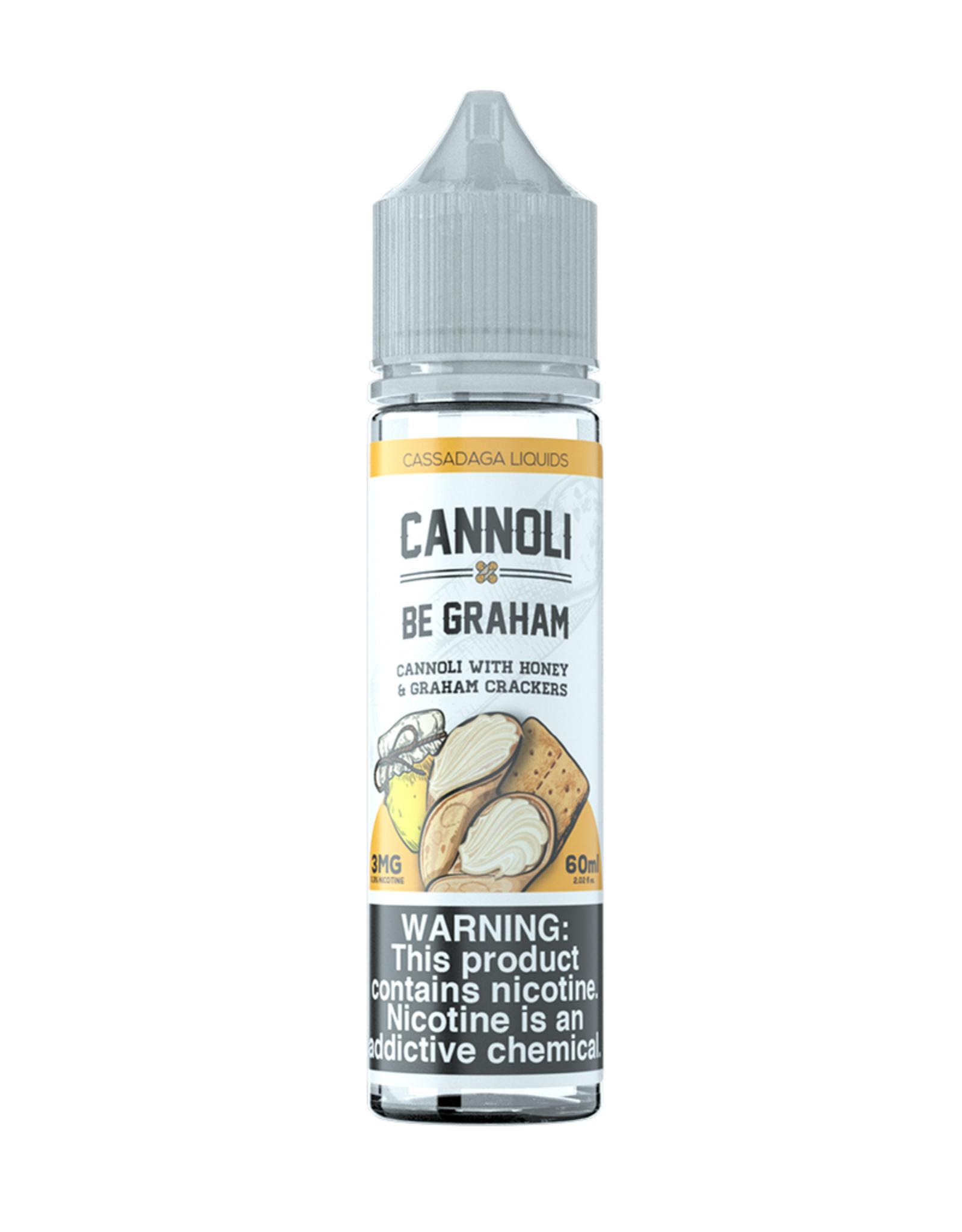 Cassadaga Liquids Cannoli Be Graham
