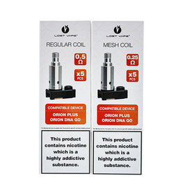 Lost Vape Lost Vape Orion Replacement Coils(Pack of 5)