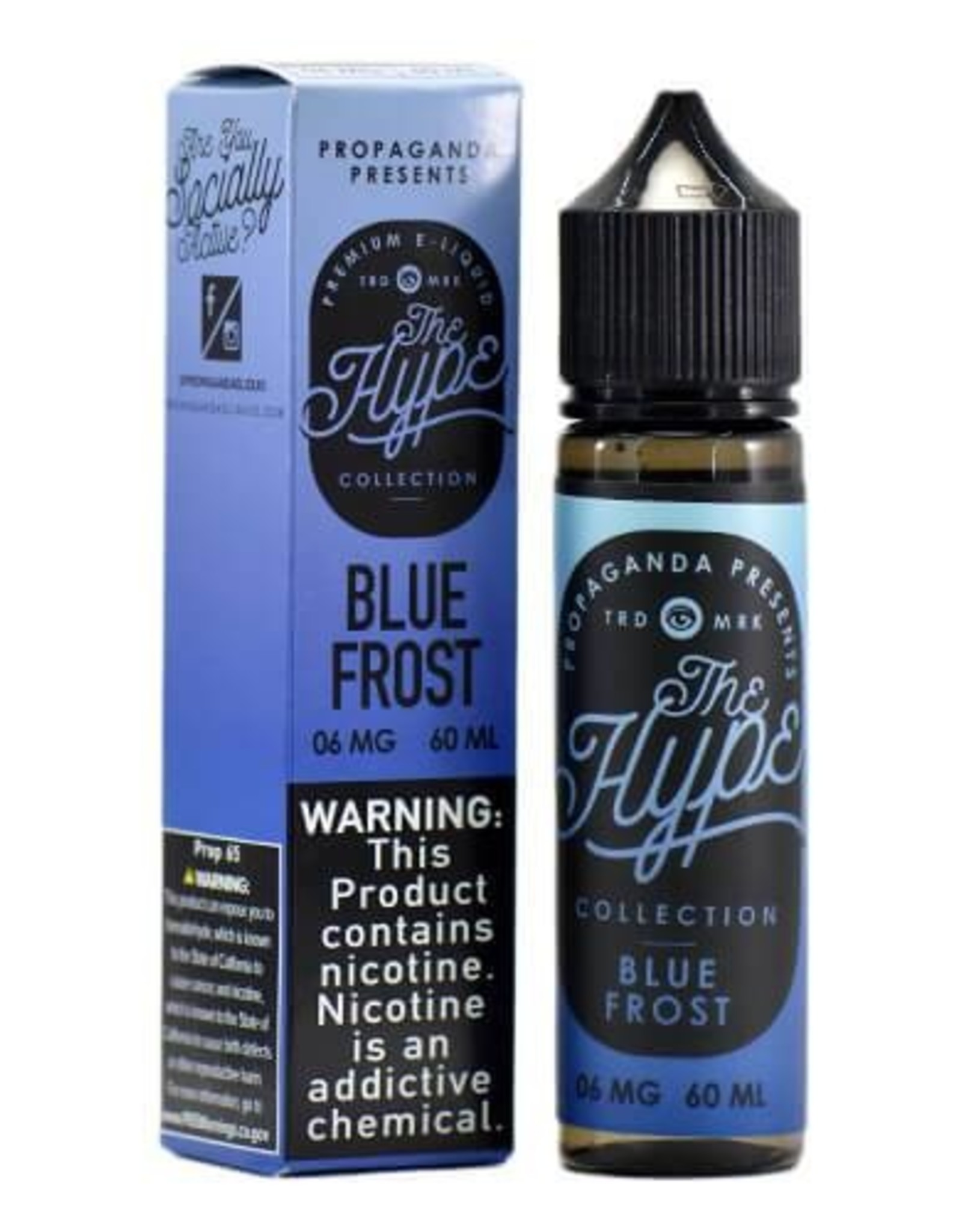 The Hype Blue Frost