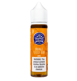 Mama's E Liquid Orange Sticky Bun