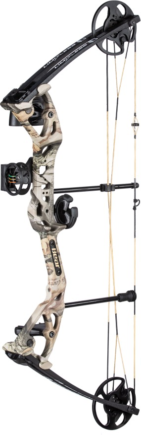Bear Bear Archery Limitless Compound Bow Package 50 lbs Camo