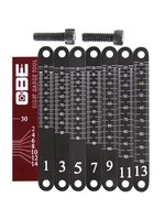 CBE CBE Laser Engraved Aluminum Yardage Scales