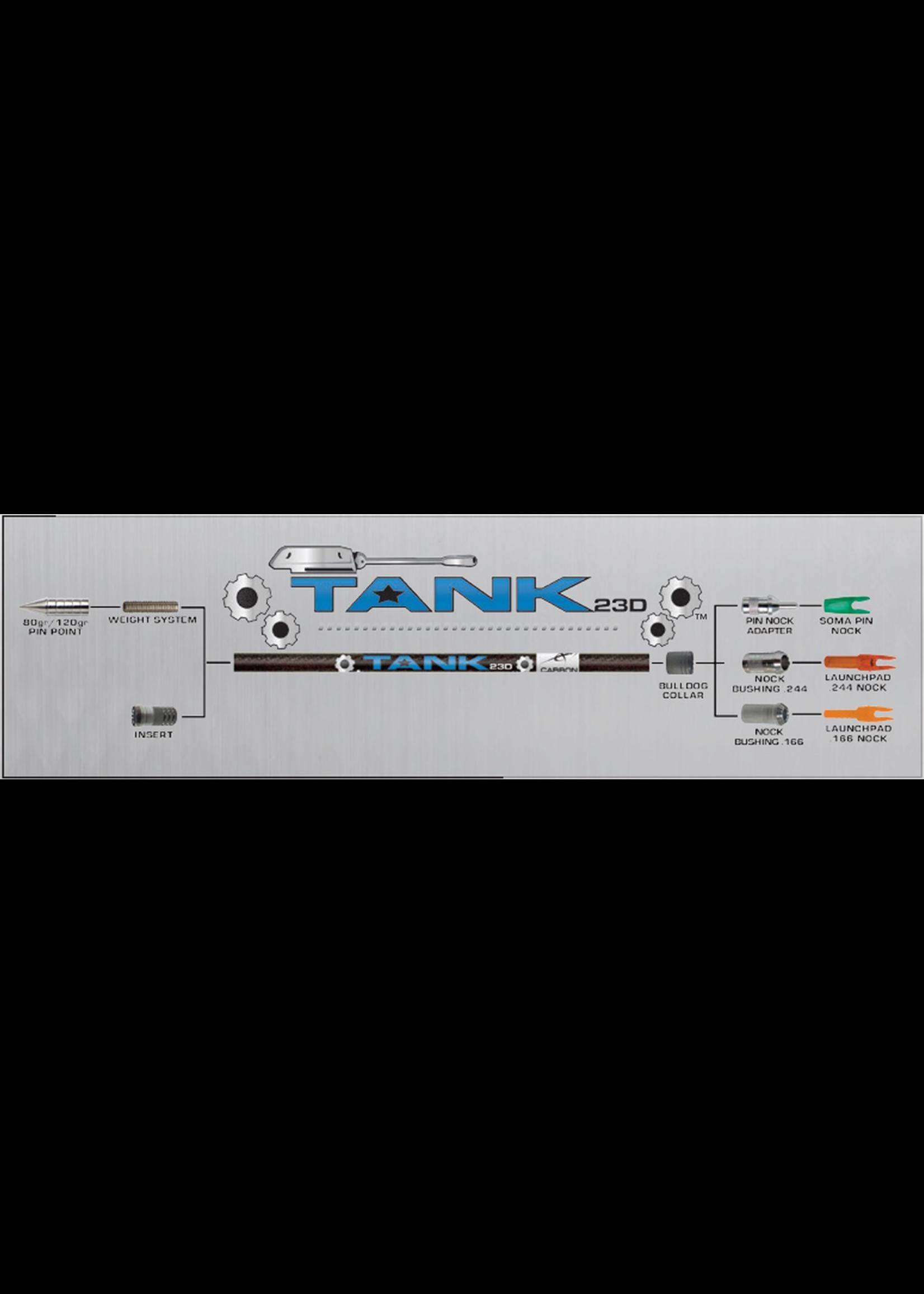 Carbon Express CX Tank 23D