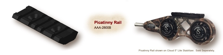 Axiom Axion Picatinny Rail